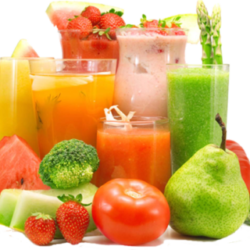 veges and fruit for a masticating juicer